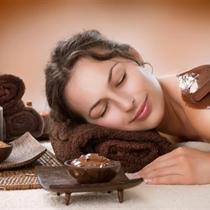 Masaż czekoladowy z peelingiem
