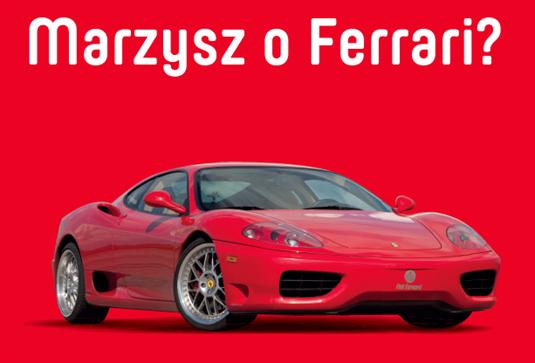 Konkurs w centrach handlowych: Galeria Mokotów, CH Targówek, CH Janki - do wygrania 5 przejażdżek za kierownicą Ferrari!