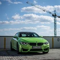 Poczuj przyjemność z jazdy BMW M4