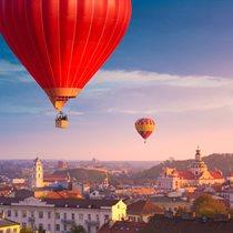 Lot balonem nad Wilnem