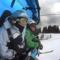 Całodniowy indywidualny kurs narciarski dla dwojga