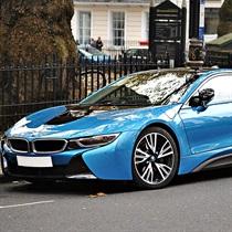 Przygoda w hybrydowym BMW i8