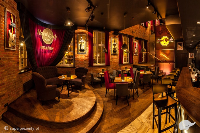 Voucher do Hard Rock Cafe Gdańsk