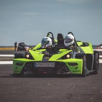 KTM X- Bow vs Ford Mustang