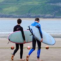 Lekcja surfingu dla Dwojga