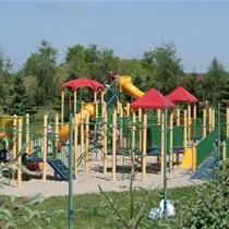 Rodzinny dzień w parku rozrywki