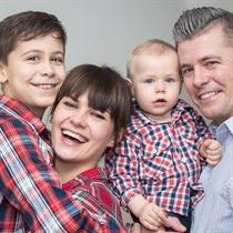 Rodzinna sesja zdjęciowa   Łódź