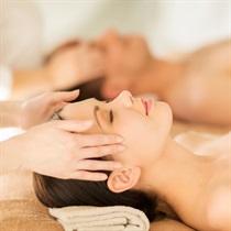 Odprężający masaż twarzy