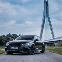 Jazda Audi RS3 sedan