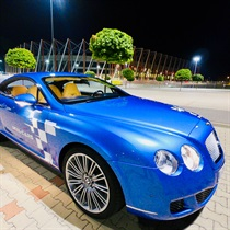 Jazda Bentley Continental GT Speed