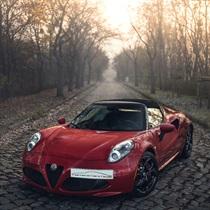 Jazda Alfa Romeo 4C