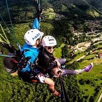 Lot paralotnią | Góra Żar