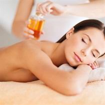 Masaż aromaterapeutyczny olejkami