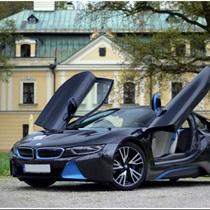 Jazda BMW i8