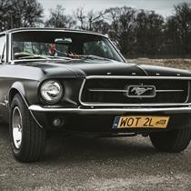 Jazda Fordem Mustangiem za kierownicą | Warszawa