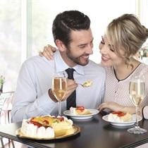 Słodka chwila dla dwojga w Mollini Ristorante