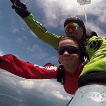 Skok ze spadochronem | Beskidy