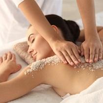 Peeling całego ciała z masażem z olejkiem witaminowym
