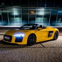 Ekskluzywne Audi R8 Spyder tylko dla Ciebie