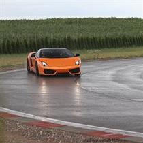Jazda bokiem Lamborghini Gallardo
