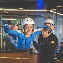 Lot w tunelu aerodynamicznym dla dzieci | Leszno