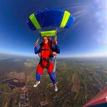 Skok spadochronowy z Desantowca z 4200 m z filmowaniem