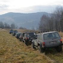 Beskid Śląski z Jeepa