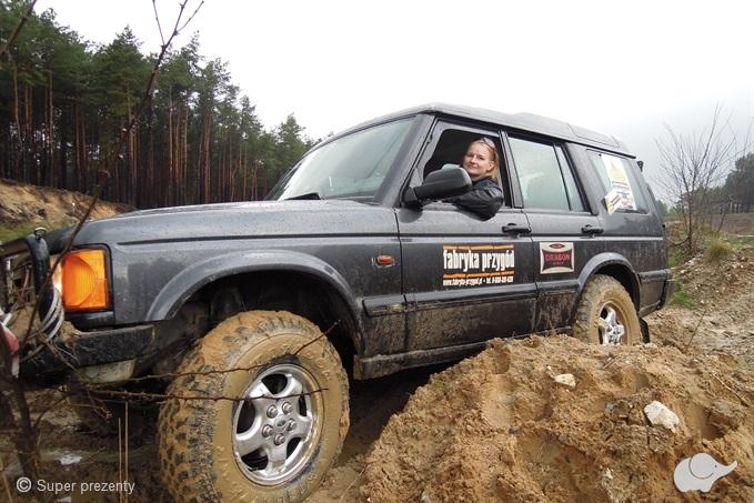 Jazda Offroad Land Roverem   Katowice