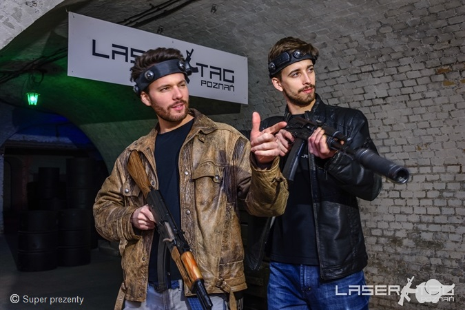 Paintball laserowy | Poznań
