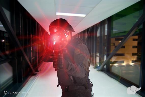 Paintball Laserowy dla 4 osób