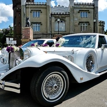 Ślubny Przejazd Limuzyną Lincoln Excalibur Retro