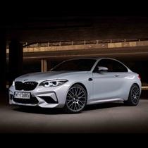 Jazda BMW M2 Competition ulicami Warszawy