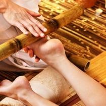 Egzotyczny masaż bambusem całego ciała