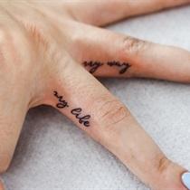 Tatuaż na palcu do 3 cm
