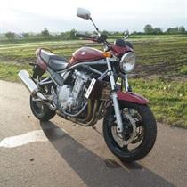 Jazda Motocyklem Suzuki Bandit 650