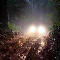Nocna wyprawa off-road