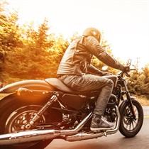 Przejażdżka Harleyem Davidsonem