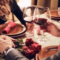 Romantyczna kolacja w Winiarni Burgundia
