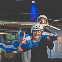 Lot w tunelu aerodynamicznym dla Dwojga | Leszno