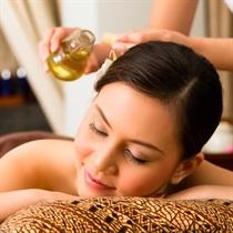 Masaż olejami aromatycznymi