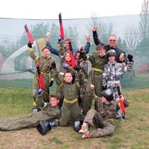 Paintbalowa przygoda dla dzieci | Bydgoszcz