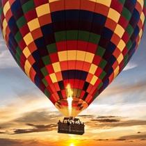 Romantyczny lot balonem