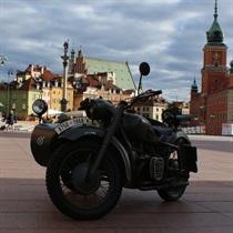 Motocyklowa wycieczka po Warszawie