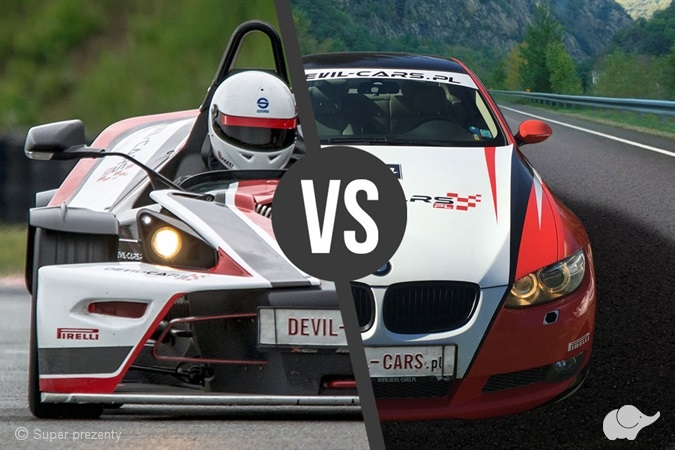 KTM X- Bow vs BMW BiTurbo | Tor Poznań