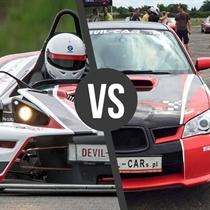 KTM X- Bow vs Subaru Impreza WRX