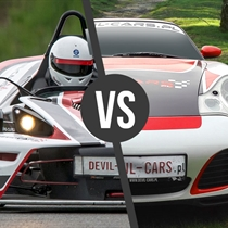 KTM X- Bow vs Porsche 911 Carrera